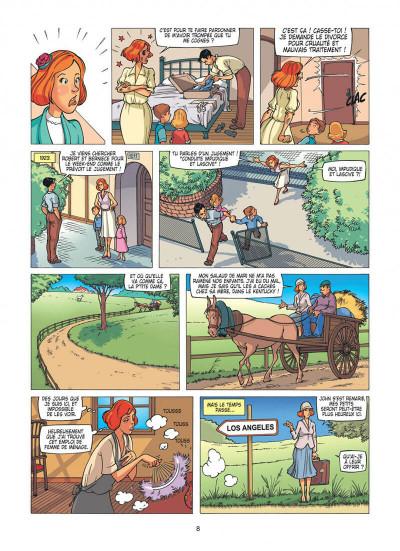 Page 8 Les étoiles de l'histoire tome 2 - Marilyn Monroe