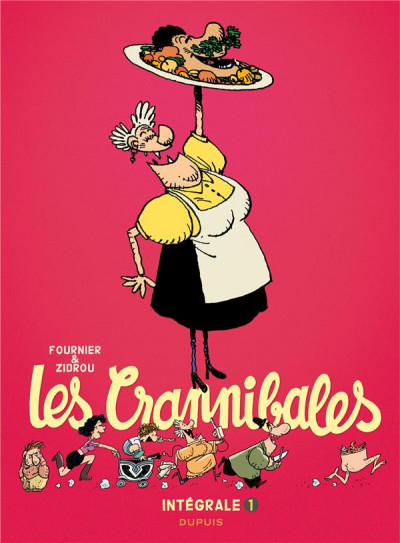 Couverture Les Crannibales - intégrale tome 1