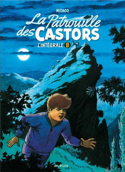 Couverture La patrouille des castors - intégrale tome 8
