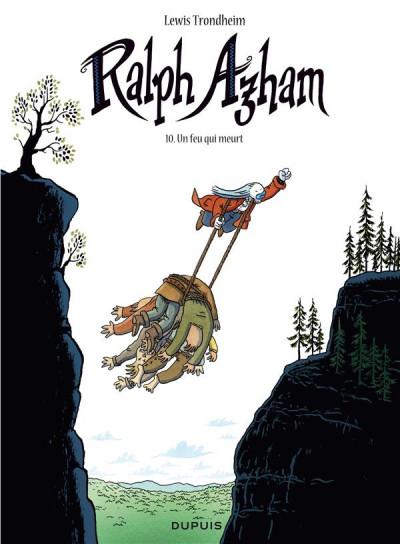 Couverture Ralph Azham tome 10 - Un feu qui meurt