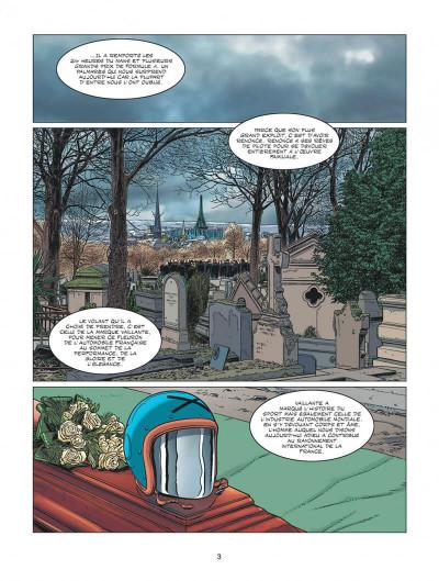Page 3 Michel Vaillant - nouvelle saison tome 6