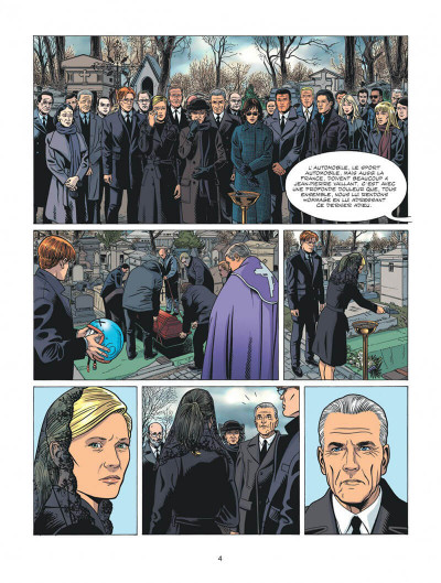 Page 4 Michel Vaillant - nouvelle saison tome 6