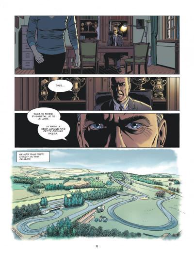 Page 8 Michel Vaillant - nouvelle saison tome 6
