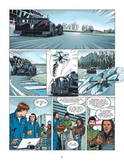 Page 9 Michel Vaillant - nouvelle saison tome 6