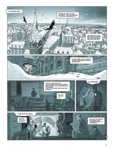 Page 9 Cézembre tome 2 + ex-libris offert