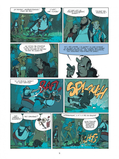Page 9 Les Campbell tome 5