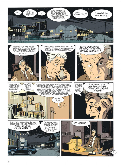 Page 3 Jérôme K. Jérôme Bloche tome 26