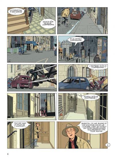 Page 6 Jérôme K. Jérôme Bloche tome 26