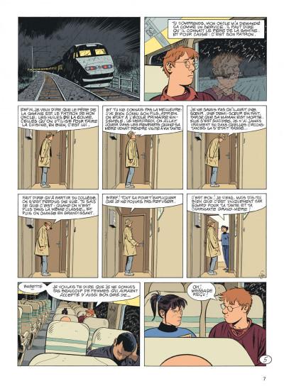 Page 7 Jérôme K. Jérôme Bloche tome 26
