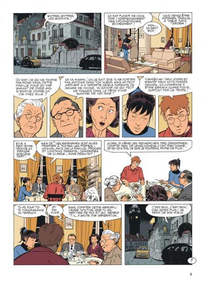 Page 9 Jérôme K. Jérôme Bloche tome 26