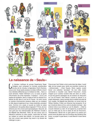 Page 2 Seuls tome 1 - la disparition