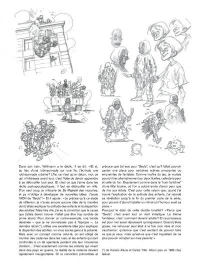 Page 3 Seuls tome 1 - la disparition