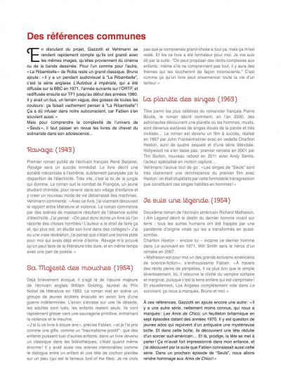 Page 5 Seuls tome 1 - la disparition