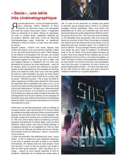 Page 6 Seuls tome 1 - la disparition