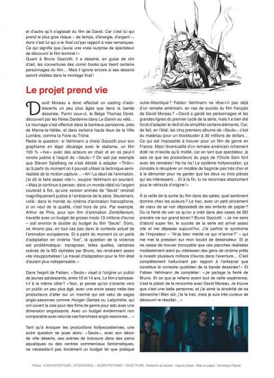 Page 8 Seuls tome 1 - la disparition