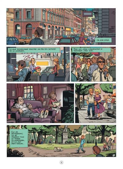 Page 9 Seuls tome 1 - la disparition