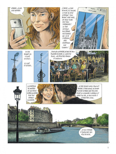 Page 7 Les chemins de compostelle tome 4