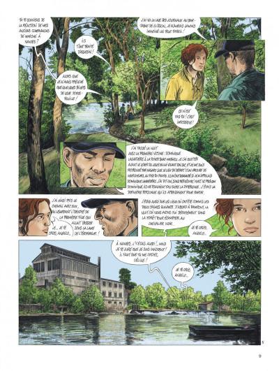 Page 9 Les chemins de compostelle tome 4