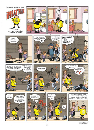 Page 3 Imbattable tome 1