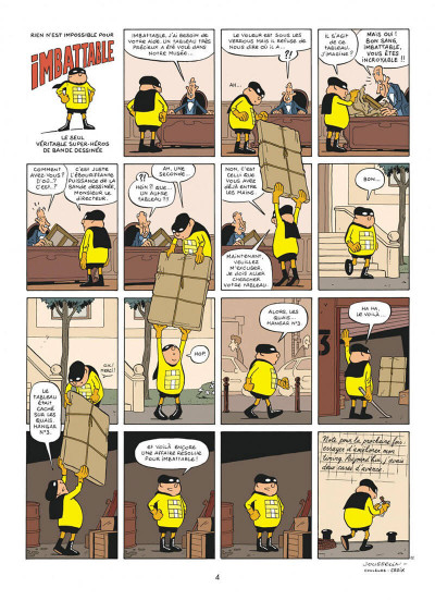 Page 4 Imbattable tome 1