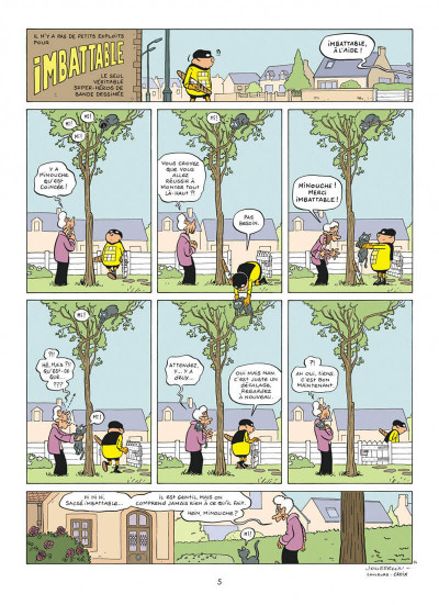Page 5 Imbattable tome 1