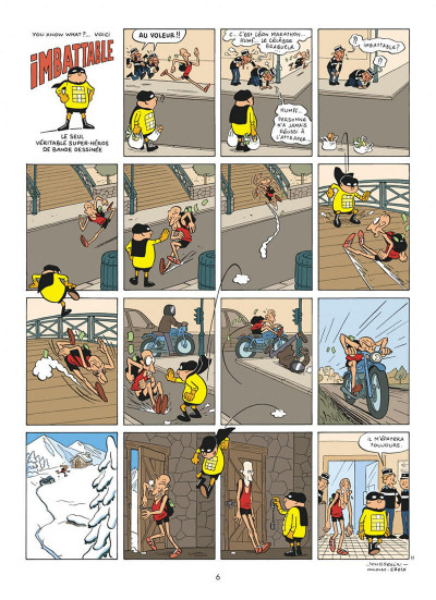 Page 6 Imbattable tome 1