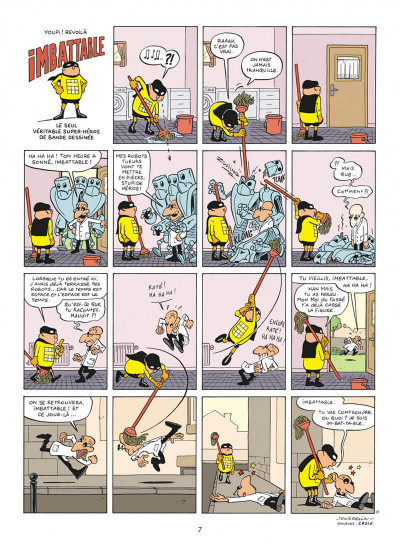 Page 7 Imbattable tome 1
