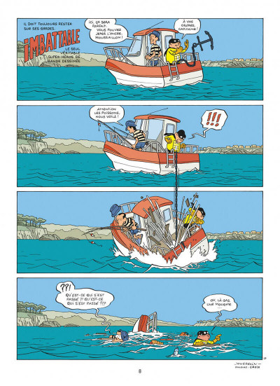 Page 8 Imbattable tome 1