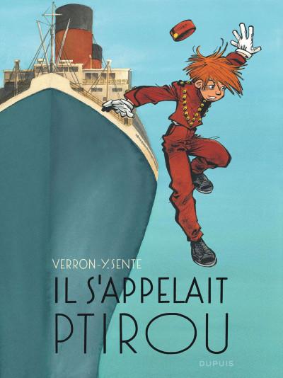 Couverture Spirou et Fantasio vu par... tome 12 - il s'appelait Ptirou