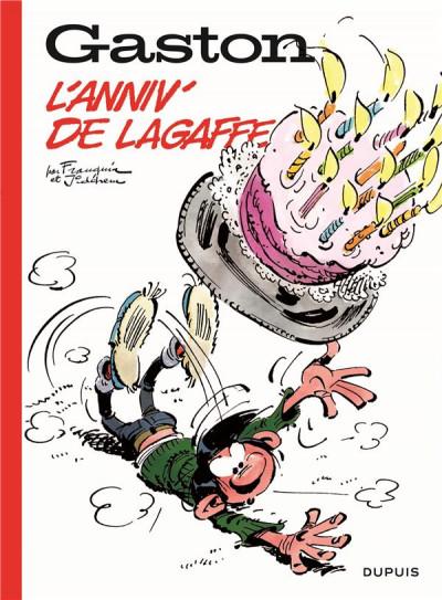 Couverture Gaston hors série tome 6 - L'anniv' de Lagaffe