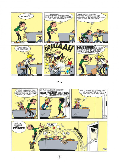 Page 4 Gaston hors série - L'anniv' de Lagaffe