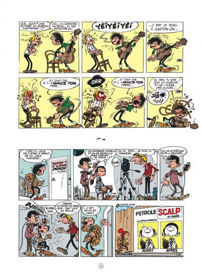 Page 6 Gaston hors série - L'anniv' de Lagaffe