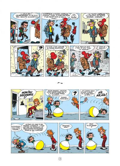 Page 9 Gaston hors série - L'anniv' de Lagaffe