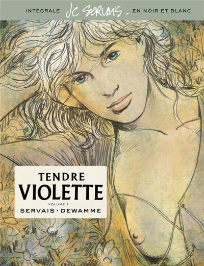 Couverture Tendre Violette - intégrale n&b tome 1
