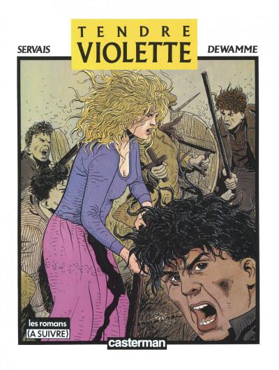 Page 2 Tendre Violette - intégrale n&b tome 1
