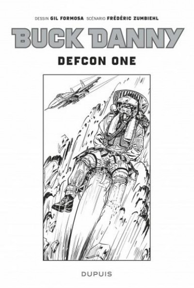Couverture Buck Danny tome 55 - Defcon one N&B