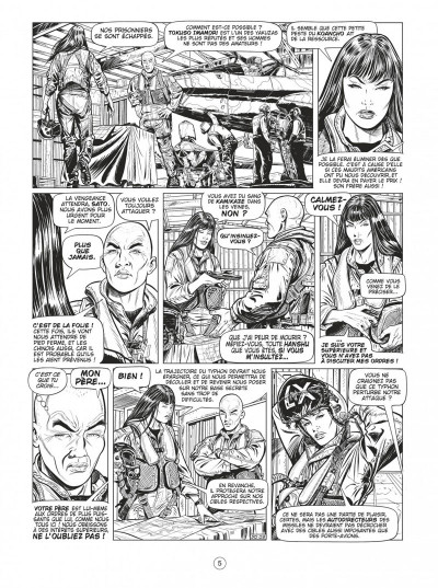 Page 4 Buck Danny tome 55 - Defcon one N&B