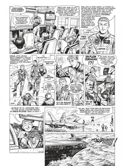 Page 8 Buck Danny tome 55 - Defcon one N&B