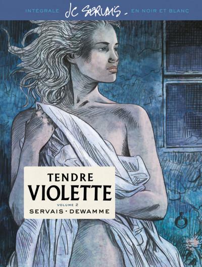 Couverture Tendre Violette - intégrale n&b - édition spéciale tome 2