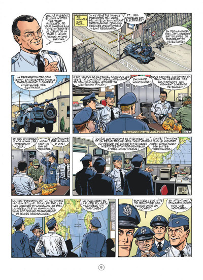 Page 8 Buck Danny - hors-série tome 1 - Les oiseaux noirs 1/2