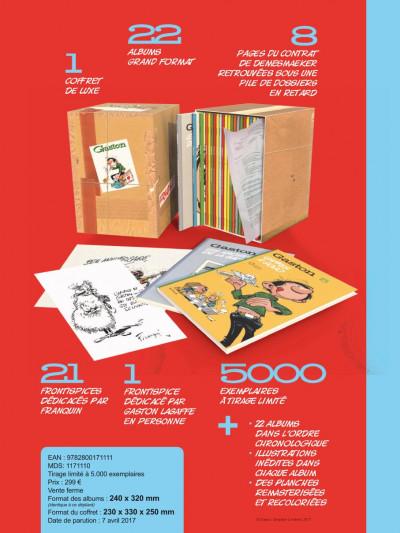 Page . Gaston - coffret intégrale - édition chronologique