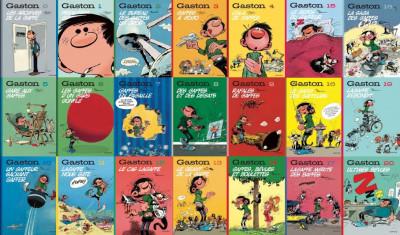 Page 3 Gaston - coffret intégrale - édition chronologique