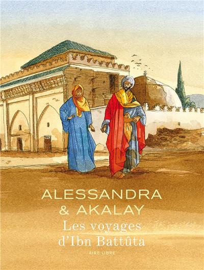 Couverture Les voyages d'Ibn Battûta - édition spéciale