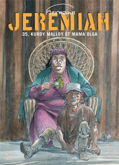 Couverture Jeremiah tome 35 - Kurdy Malloy