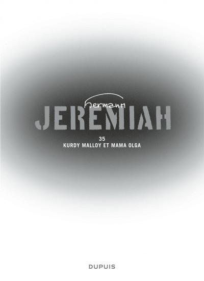 Page 2 Jeremiah tome 35 - Kurdy Malloy