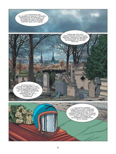 Page 3 Michel Vaillant - nouvelle saison - Fan Box tome 6