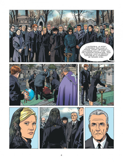 Page 4 Michel Vaillant - nouvelle saison - Fan Box tome 6