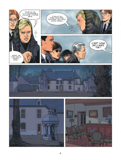 Page 6 Michel Vaillant - nouvelle saison - Fan Box tome 6
