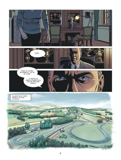 Page 8 Michel Vaillant - nouvelle saison - Fan Box tome 6