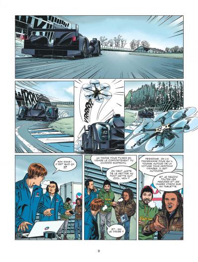 Page 9 Michel Vaillant - nouvelle saison - Fan Box tome 6